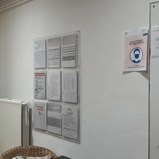 Couloir du bureau